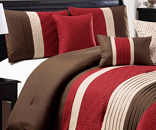 Brown And Red Bedding - 2