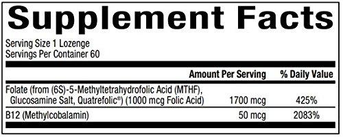 Amazon.com: bioclinic Naturals 5-mthf & B12 biológicamente ...