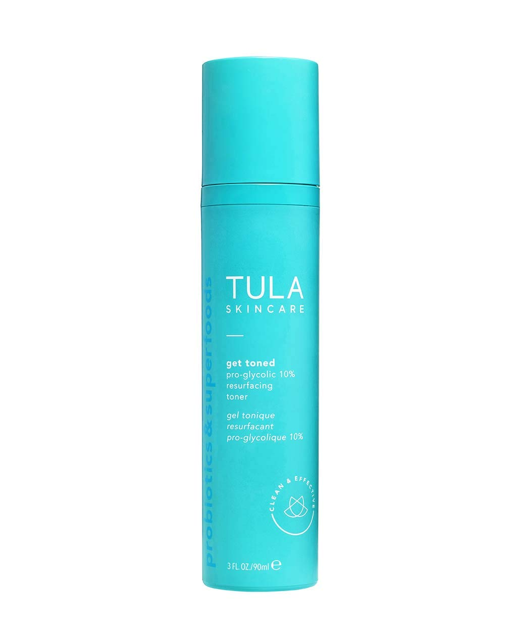 TULA Probiotic Skin Care 3-Step Balanced Skin Bundle | Full-Size Face Wash, Day & Night Face Moisturizer, Pro-Glycolic Resurfacing Face Toner | Best for Normal and Dry Skin