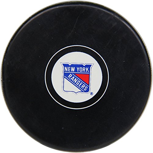 New York Rangers Autograph Puck (Steiner Sports Puck Case)