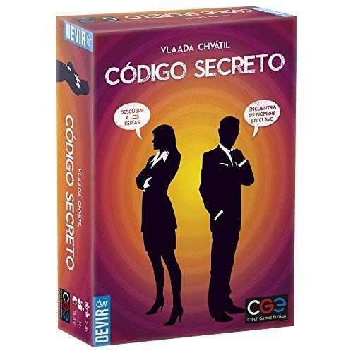 Devir- Codigo Secreto Juego de Mesa, Multicolor, unica (BGCOSE)