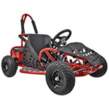 Big Toys USA MT-GK-01-Red Off Road Go Kart 48 Volt 1000 Watt by BIG TOYS USA