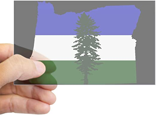 Oregon Flag Vinyl Decal Bumper Sticker 2-Pack Car Truck Van Laptop Window