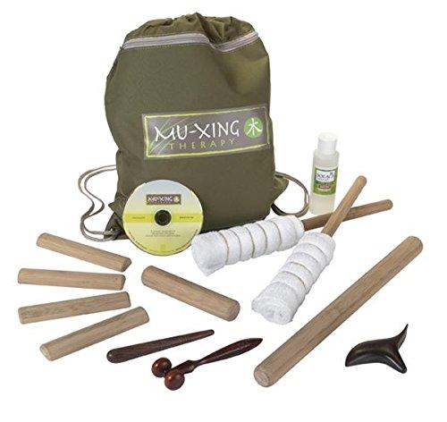 Mu-Xing Therapy Warm Bamboo Massage Tool Kit