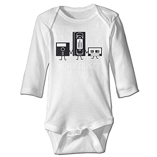 Richard Unisex Infant Bodysuits Never Forget Funny Retro Guys Gift Idea Music Boys Babysuit Long Sleeve Jumpsuit Sunsuit Outfit 18 Months - Guys Ideas Costume For Nerd