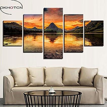 Includere il telaio tela moderna Poster per soggiorno HD Quadri ...