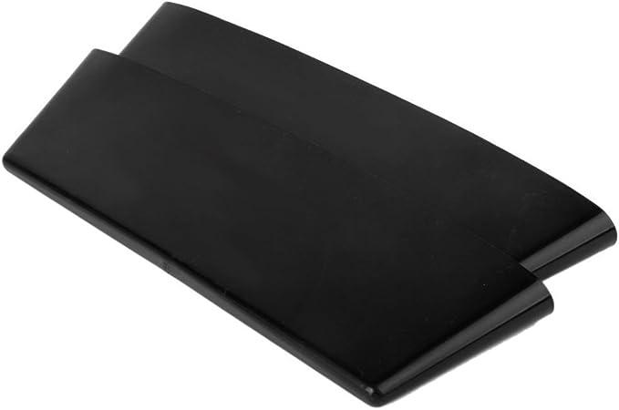 LEORX lato Seggiolino Auto Gap Filler Organizer tascabile di archiviazione/ Nero /2pcs