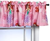 Cheap Disney's the Little Mermaid with Sebastian Window Valance – Pink