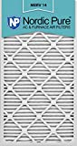 Nordic Pure 14x30x1M14-6 Pleated AC Furnace Air Filter, Box of 6