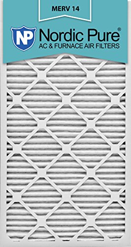Nordic Pure 14x30x1M14-6 Pleated AC Furnace Air Filter, Box of 6 by Nordic Pure
