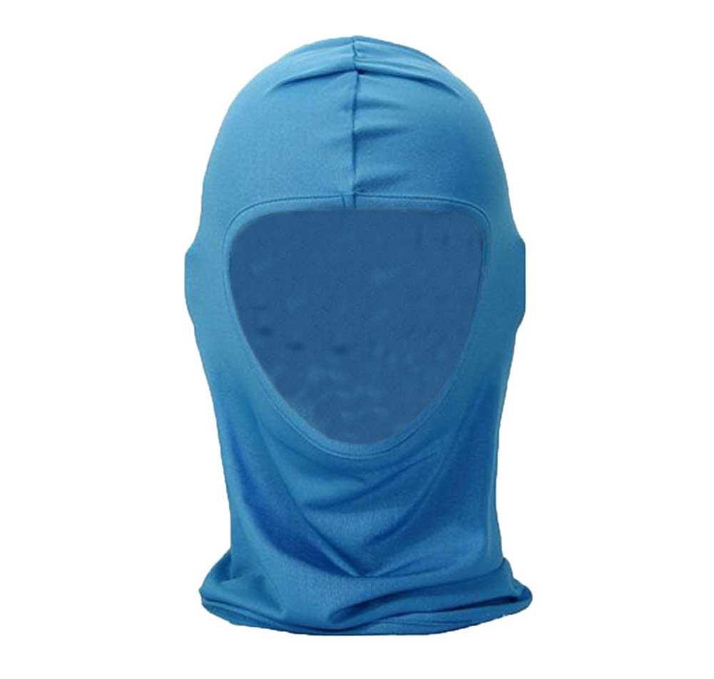Ultra fina Leegoal™ pasamontañas máscara de esquí bicicleta cascos de motocicleta para hombres y mujeres Azul azul celeste Talla:talla única