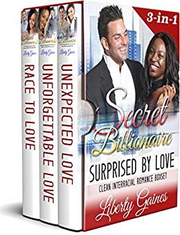 Secret Billionaire: Surprised By Love Boxset by [Gaines, Liberty, Read, Pure]