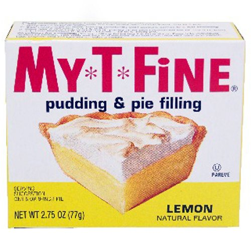 My-T-Fine Pudding Mix Lemon - 24 Unit Pack