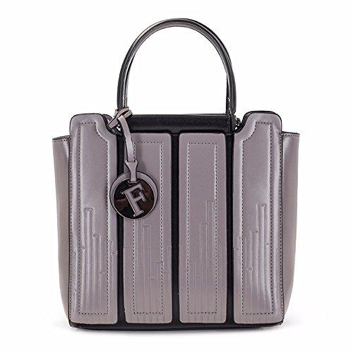 para Shoulder Bandolera gris Mujer Gris Crossbody Bolso Bag qpnzwnx