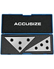 Accusize Industrial Tools Solid Angle Plate Set, 2 pc, 3610-9010