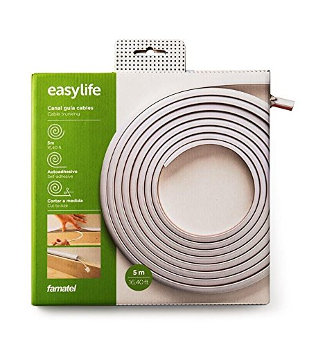 16 ft Wiremold Cable Raceway Flexible Self Adhesive and Easy to Cut All in One Box