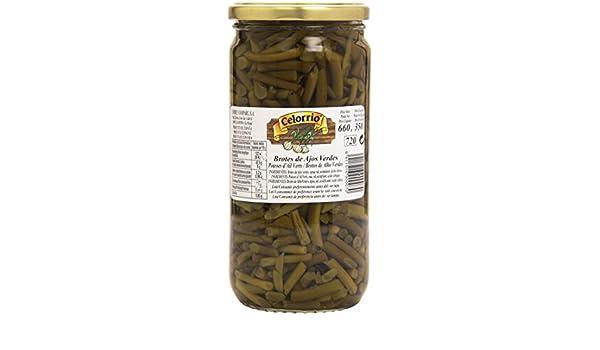 Celorrio - Brotes de Ajos Verdes - 350 g: Amazon.es: Alimentación ...