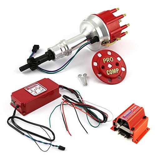 fits Ford 351W Windsor 8400 Pro Billet Distributor 6AL CDI Ignition & Coil Kit ()