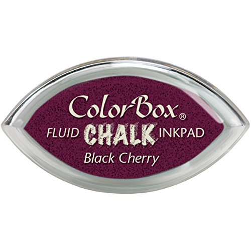 Clearsnap Color Box Fluid Chalk Cat's Eye Ink Pad, Black Che