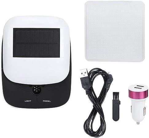 Mini purificador de Aire, Filtro de Aire multifunción de Filtro de Aire de energía Solar Filtro de purificador de Aire de Coche Inicio: Amazon.es: Hogar