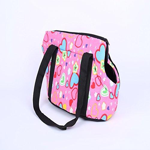 Pet Handbag Carrier Dog KAYI Foldable Washable Travel Carrying Shoulder Bag for Small Medium Pets
