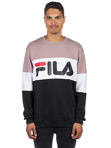 Fila Straight Blocked Crew Men, Sudadera - M