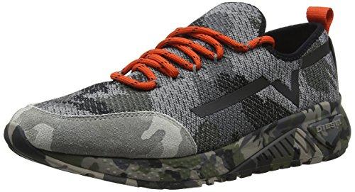 - Diesel Men's SKB S-KBY Camou-Sneakers, Multicolor Army, 11 M US