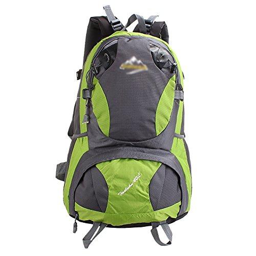 HWLXBB Outdoor Bergsteigen Paket Männer und Frauen 40L Wasserdichte Licht Mehrzweck Bergsteigen Tasche Wanderung Berg Bergsteigen Rucksack ( Farbe : 4* )