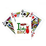 Italy National symbol Landmark Pattern Poker Playing Card Tabletop Board Game Gift