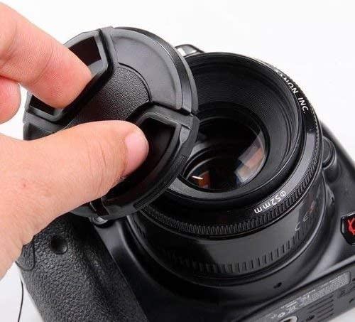 5-Pack SouthBayCamera 52MM Center Pinch Lens Cap Cover for Canon Nikon Sony Front Cap