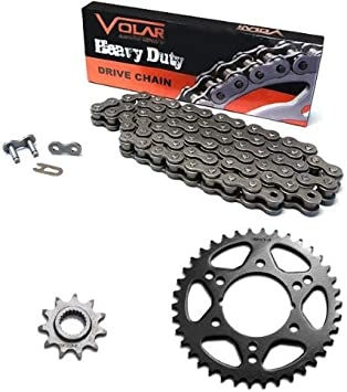 Black O-Ring Chain and Sprocket Kit for Polaris 330 Trail Boss 2x4 2003 2004 2005 2006 2007 2008 2009 2010