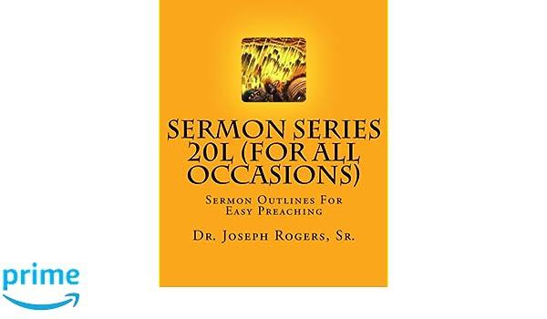 Sermon Series 20L