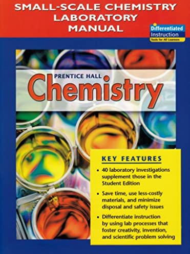 amazon com prentice hall chemistry small scale chemistry rh amazon com Prentice Hall Chemistry Workbook Answers prentice hall chemistry small scale chemistry laboratory manual answers