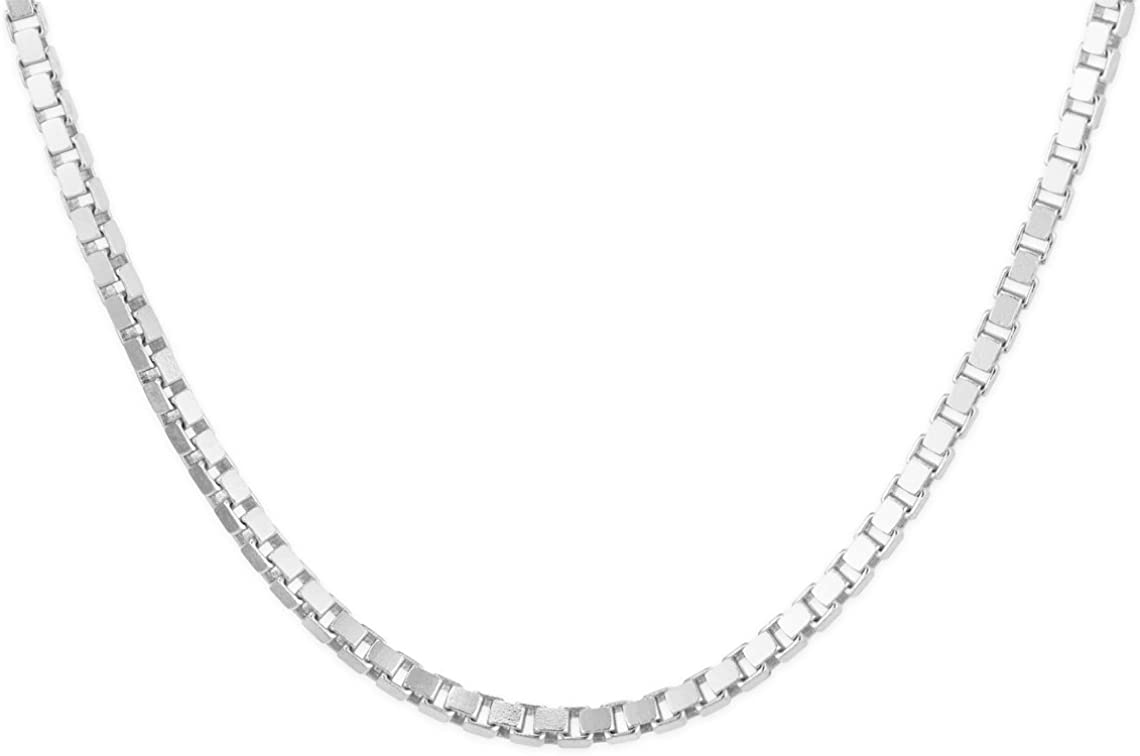 Sterling Silver 1 mm Box Chain 30