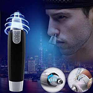 OVERMAL Heavy Duty Nose Trimmer Facial Professional Ear Hair Trimmer/Beard Trimmer/Sideburns Trimmer/Eyebrow Trimmer