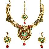 Zeneme Women's Wedding Jewellery Sets Fashion Bride Earrings & Necklace