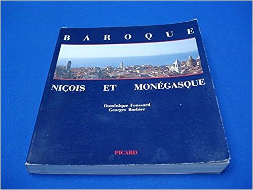 Lire Baroque: Niçois et monégasque pdf