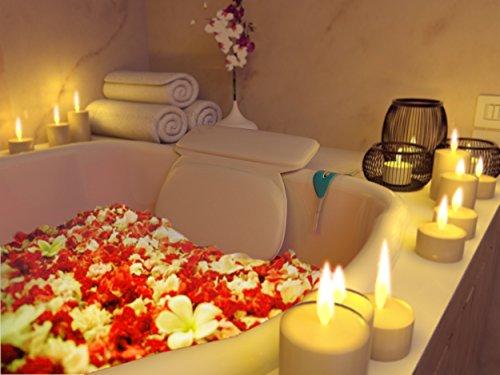 Sérénité maintenant bain oreiller - le Cloud luxe doux oreiller pour votre baignoire, le bain à remous Spa & le Jacuzzi - avec refroidissement/réchauffement gratuit Gel masque pour les yeux & Spa téléchargement de musique - un produit vedette de l