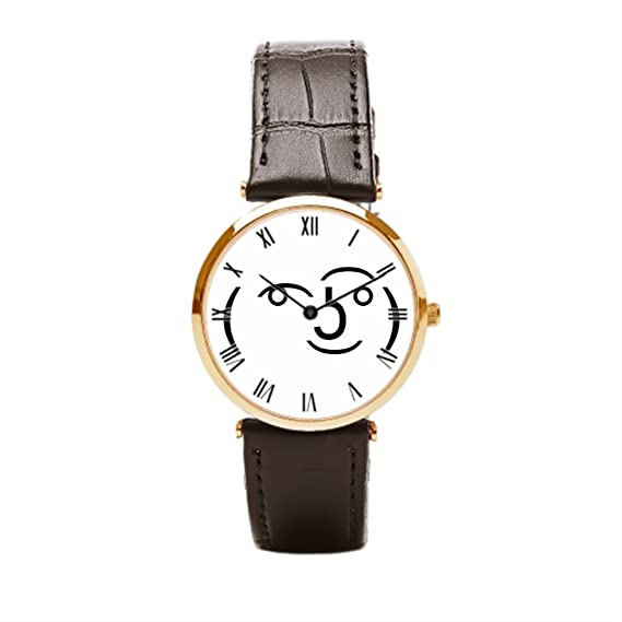 Papibaby Piel Banda Relojes Para Hombre Tumblr Relojes Piel Banda
