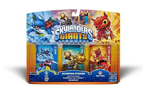 Skylanders Giants-Pack - Scorpion Striker, Zap, Hot Dog (Wii/PS3/Xbox...