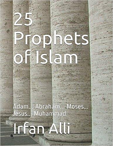 25 Prophets of Islam: Adam    Abraham    Moses    Jesus