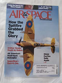 Air and Space March 2008 (Spitfire Mk  V cover issue): linda shiner