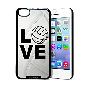 MEIMEIShawnex Volleyball Love Heart Volleyball Player ipod touch 4 Case - Thin Shell Plastic Protective Case ipod touch 4 CaseLINMM58281