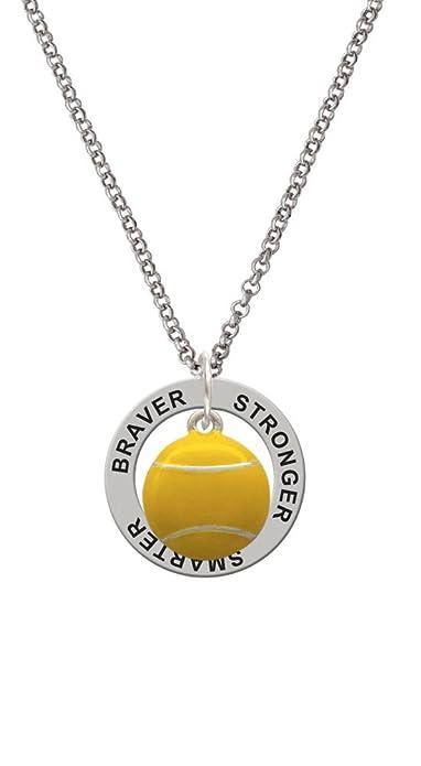 Silvertone grande bola pelota tenis - más fuerte más valiente, más ...