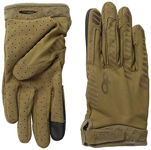 Outdoor Research Aerator Sensor Gloves, Coyote, Medium