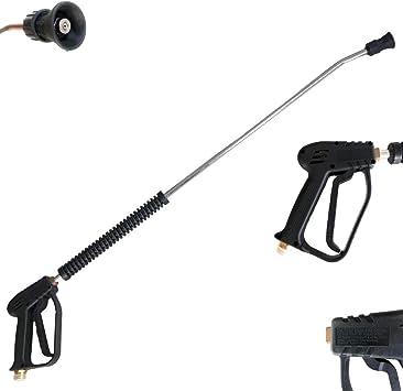 Hochdruckpistole mit Strahlrohr f/ür KR/ÄNZLE Hochdruckreiniger M22 AG D/üse 045