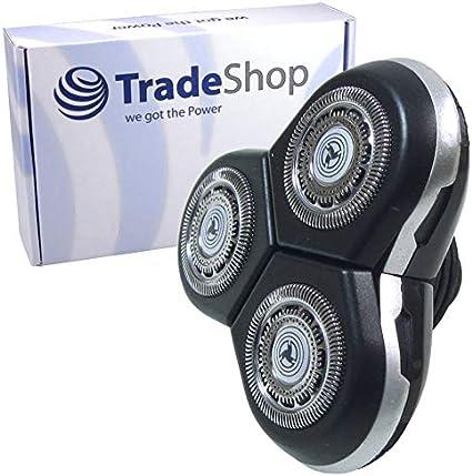 Cabezal de afeitado de repuesto para Philips Arcitec SensoTouch 3D Shaver RQ12 RQ10 RQ12+ para RQ1050 RQ1250 S7000-Serie S9000-Serie S9000: Amazon.es: Salud y cuidado personal