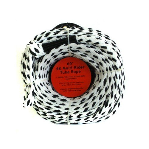Accurate Lines 6K Multi-Rider 60' Tube Rope White