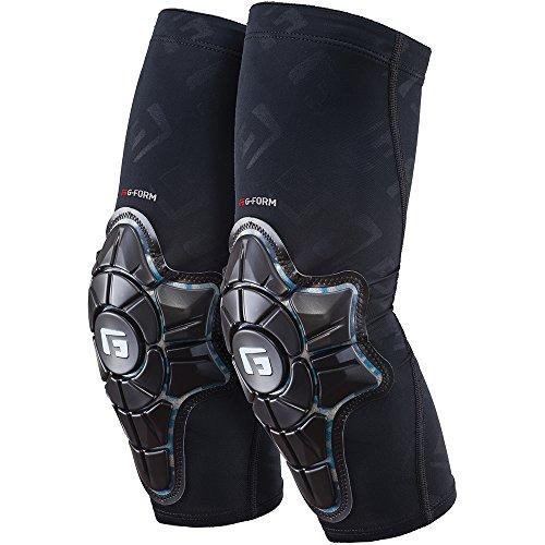 G-Form Pro-X Elbow Pads(1 Pair), Black/Teal Camo, Adult Medium