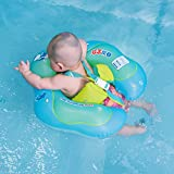 Free Swimming Baby Inflatable Baby Swimming Ring Baby Float for Swimming Pool,3-9month (S)